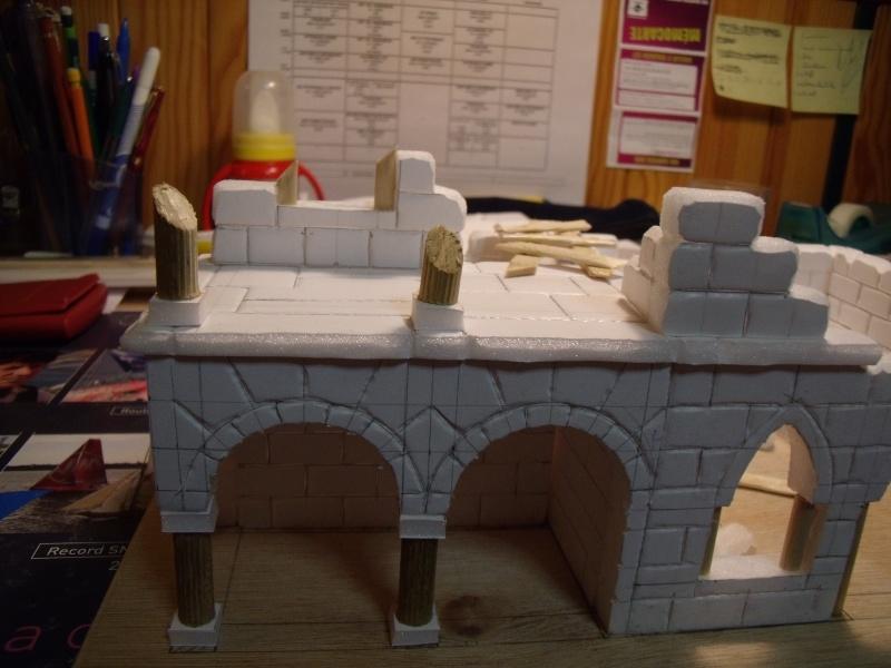 Mon nouveau projet: Ruines d'Osgiliath Dscf0216