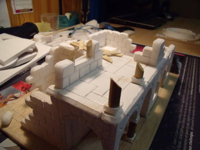 Mon nouveau projet: Ruines d'Osgiliath Dscf0218