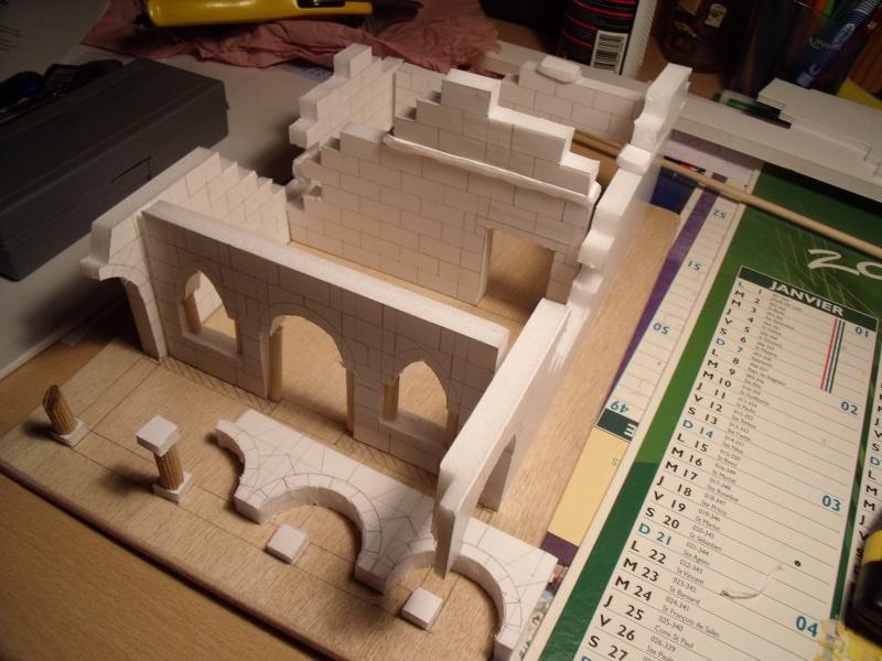 Mon nouveau projet: Ruines d'Osgiliath Dscf0225