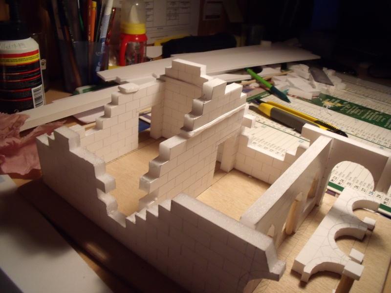 Mon nouveau projet: Ruines d'Osgiliath Dscf0226