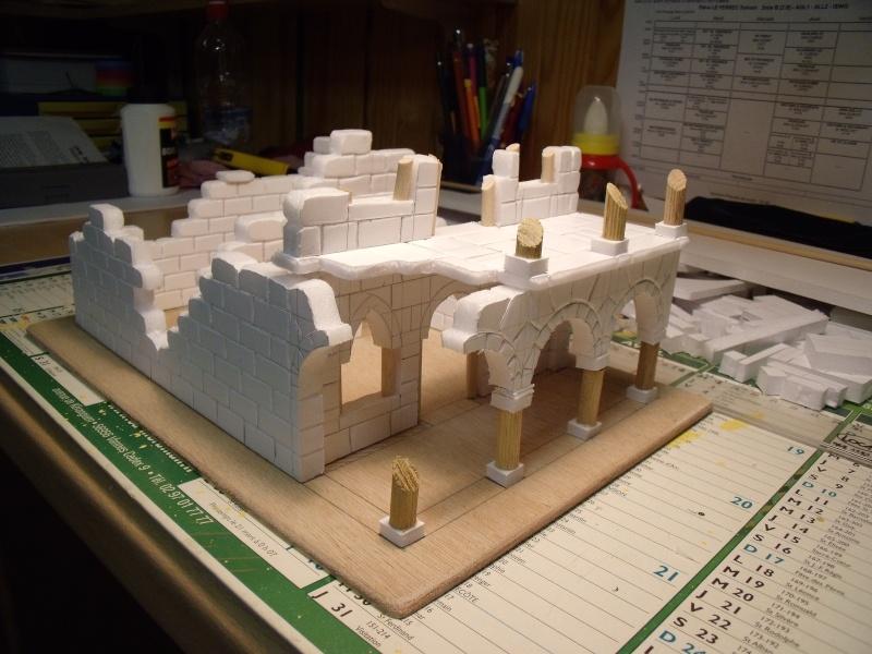 Mon nouveau projet: Ruines d'Osgiliath Dscf0227
