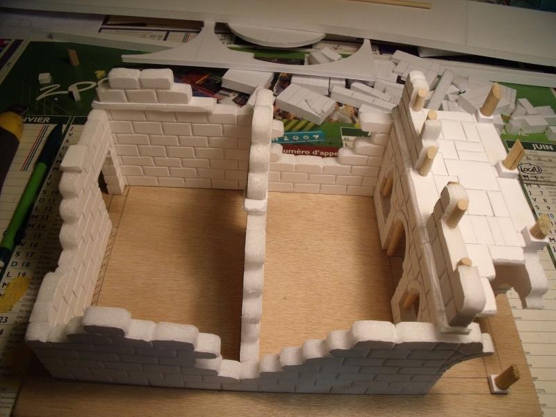Mon nouveau projet: Ruines d'Osgiliath Dscf0228