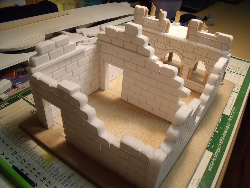 Mon nouveau projet: Ruines d'Osgiliath Dscf0229