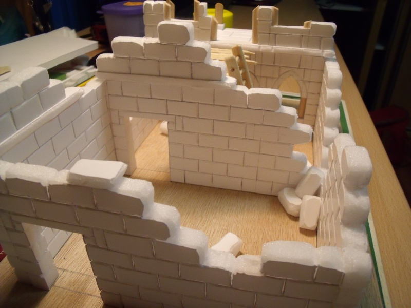 Mon nouveau projet: Ruines d'Osgiliath Dscf0235