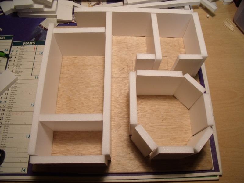 Mon nouveau projet: Ruines d'Osgiliath Dscf0239