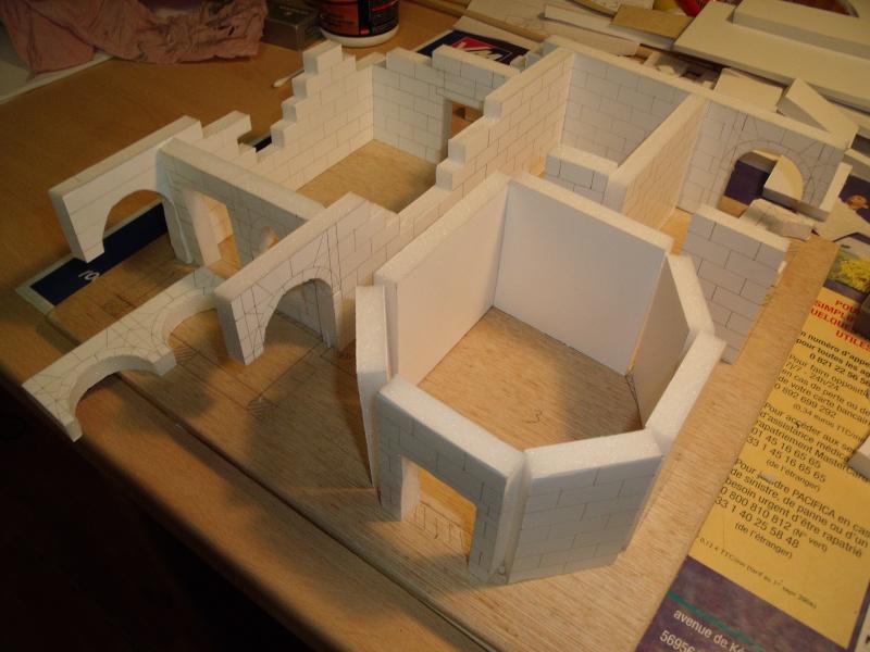 Mon nouveau projet: Ruines d'Osgiliath Dscf0241