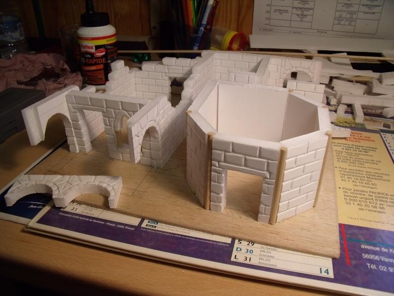 Mon nouveau projet: Ruines d'Osgiliath Dscf0242