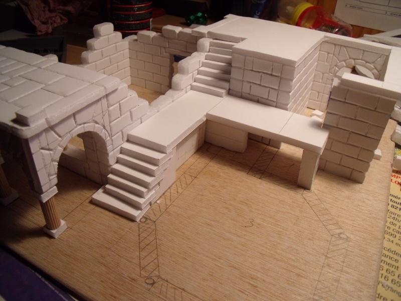 Mon nouveau projet: Ruines d'Osgiliath Dscf0243