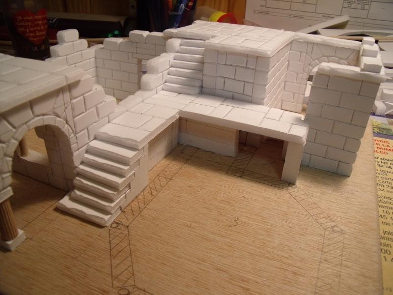 Mon nouveau projet: Ruines d'Osgiliath Dscf0244