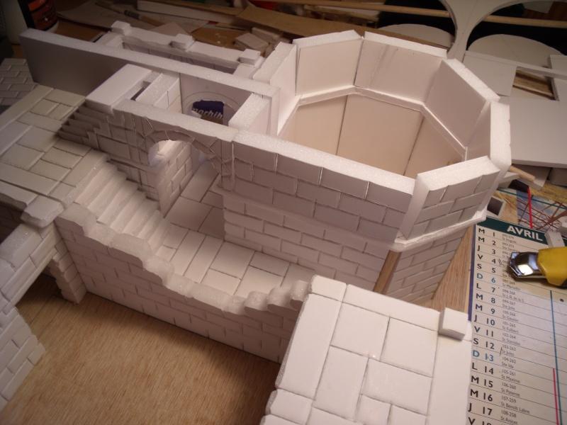 Mon nouveau projet: Ruines d'Osgiliath Dscf0247