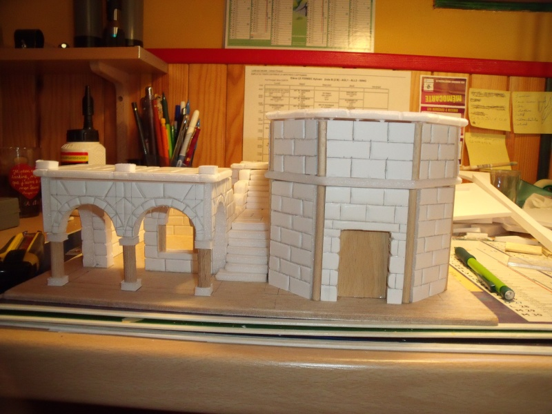 Mon nouveau projet: Ruines d'Osgiliath Dscf0248