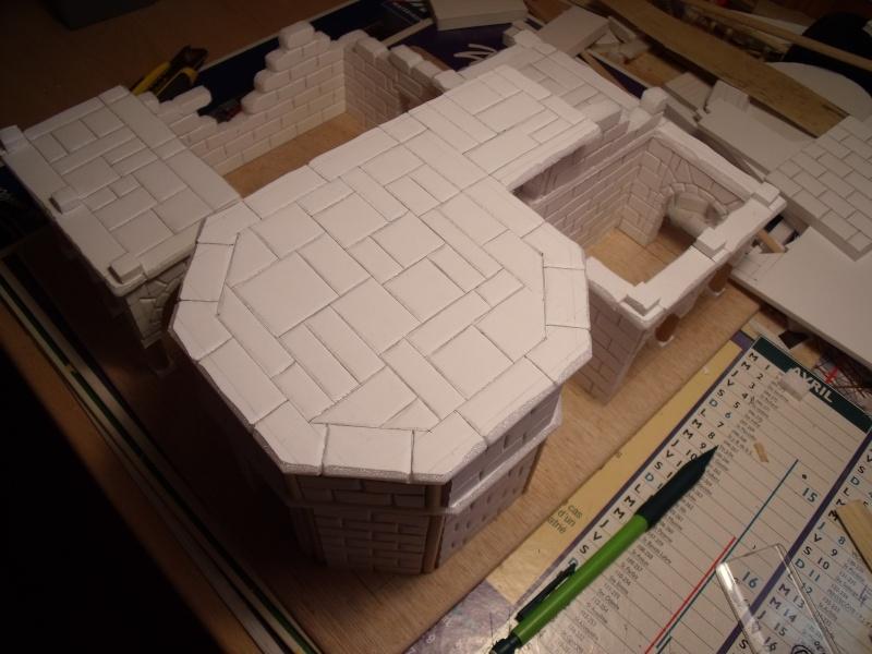 Mon nouveau projet: Ruines d'Osgiliath Dscf0250
