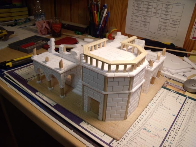 Mon nouveau projet: Ruines d'Osgiliath Dscf0251