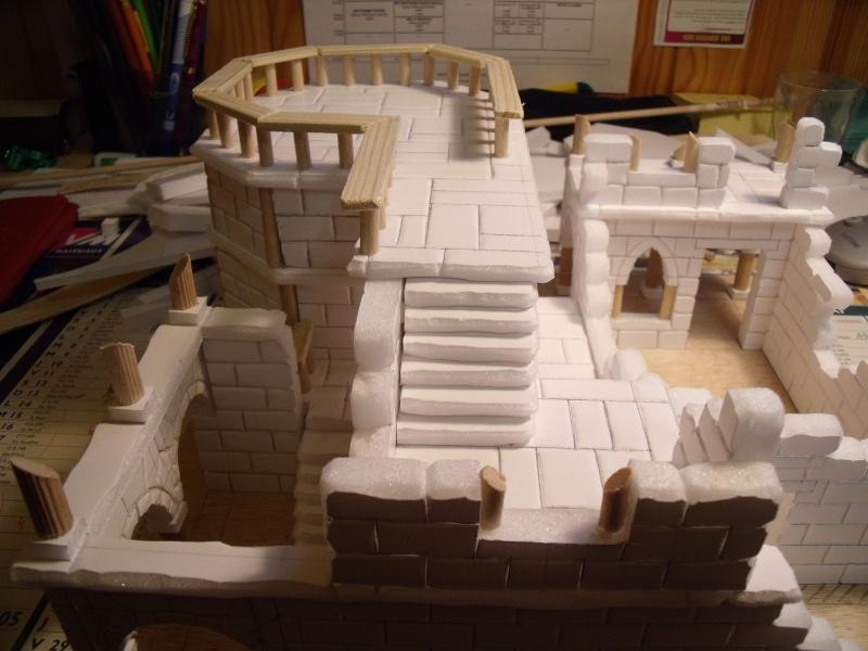 Mon nouveau projet: Ruines d'Osgiliath Dscf0253