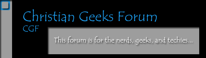 Christian Geeks Forum