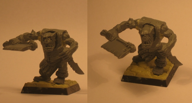 (Black) Orc Warband Practice WIP Last_o10