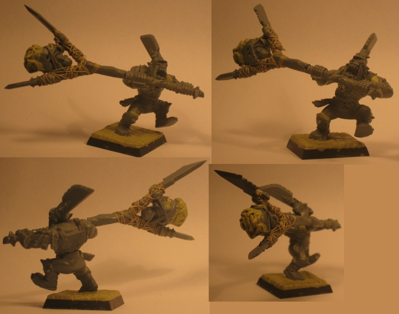 (Black) Orc Warband Practice WIP Nutta_11