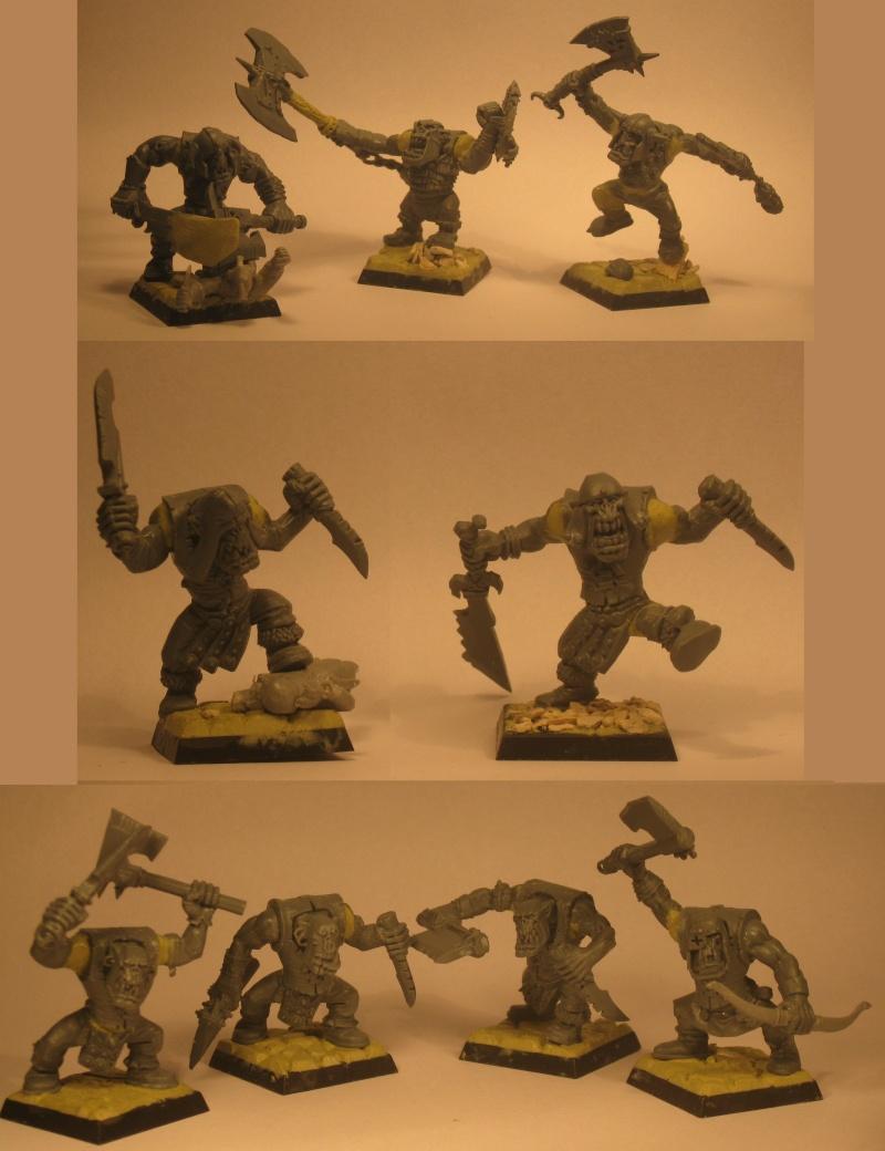 (Black) Orc Warband Practice WIP Warban10