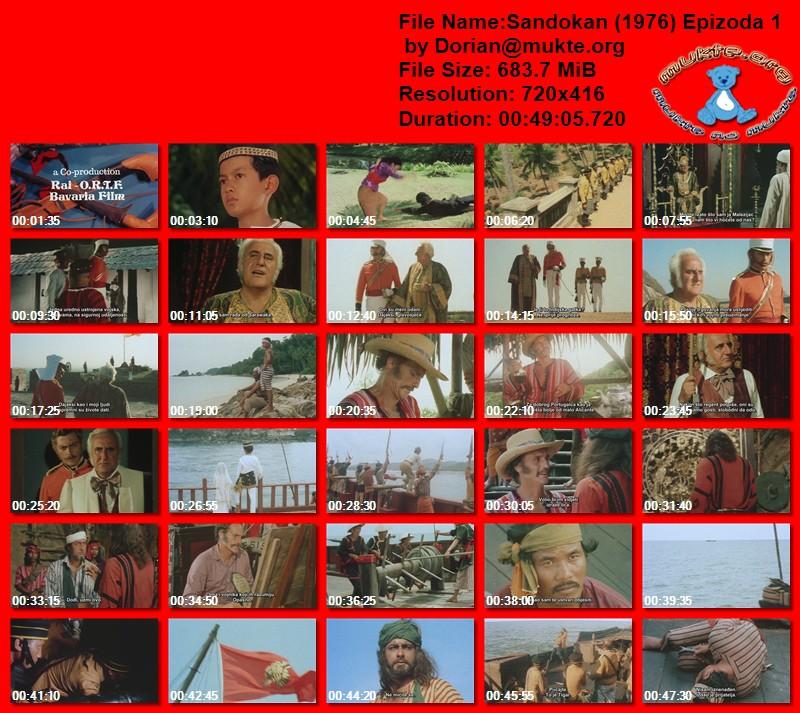 Sandokan (1976) All episodes 32zrvj10