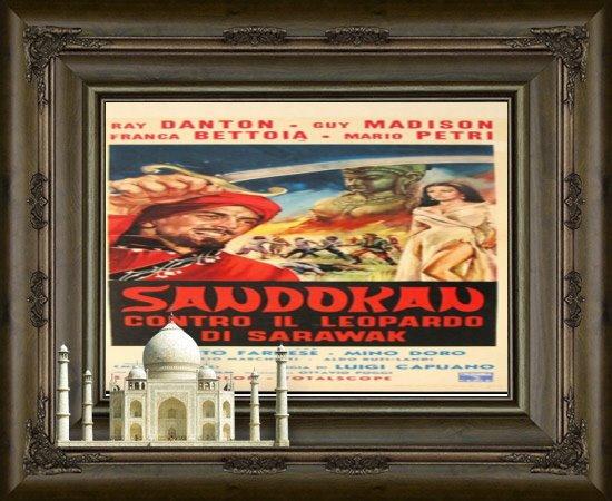 Sandokan against the leopard of sarawak ( 1964 ) Framed10