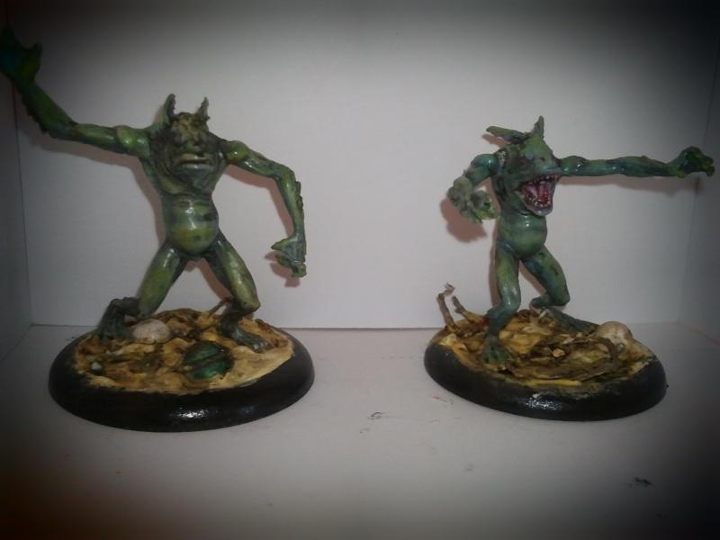 Peintures sur figurines de jeux de plateaux  00411