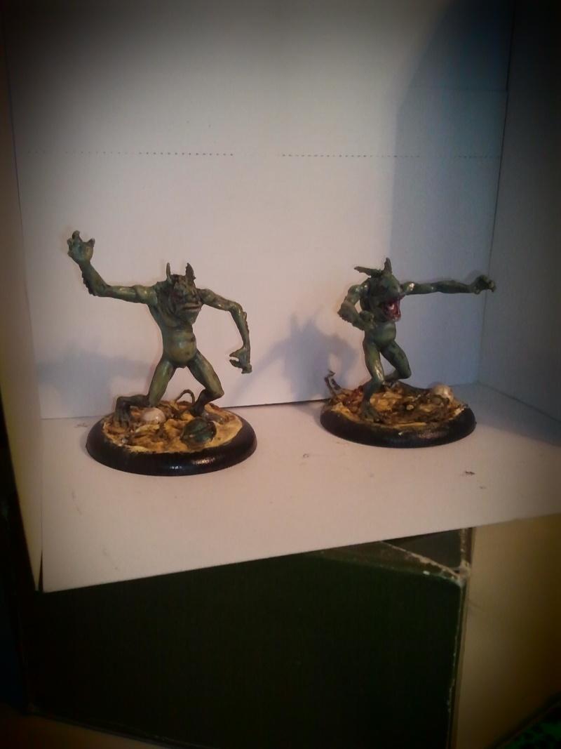 Peintures sur figurines de jeux de plateaux  00511