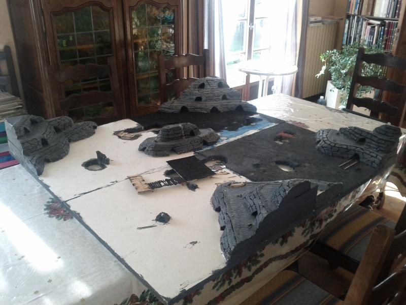 Table de jeu mines de la moria 110