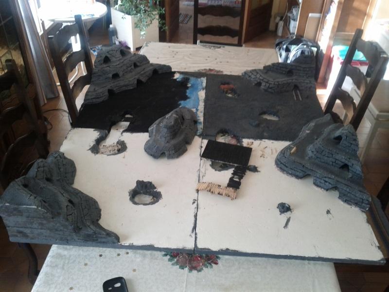 Table de jeu mines de la moria 410