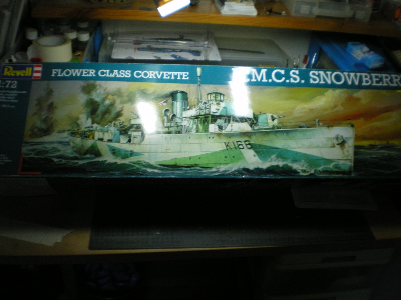 flower class corvette hmcs snowberry 1/72 Bateau16
