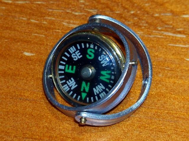 Fokker DR.I  -  DeAgostini-Umbau, M 1:6 Kompas10
