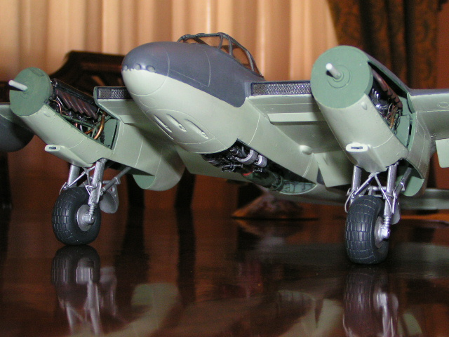Work in progress..........DH98 Mosquito FB Mk VI  RS625 NE-D Pict0022