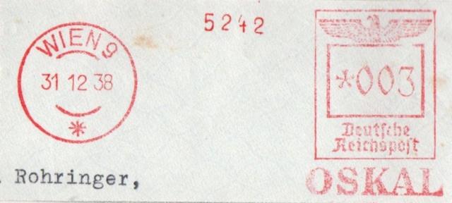 Österreichische Absenderfreistempel  Wien_914