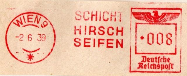 Österreichische Absenderfreistempel  Wien_916