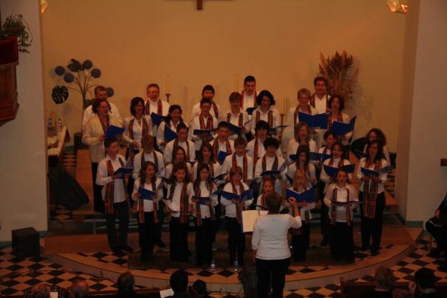 Concert de chant choral à Wangen le 6 décembre 2009 à 17h Concer13