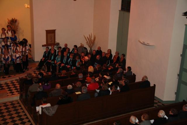 Concert de chant choral à Wangen le 6 décembre 2009 à 17h Concer14