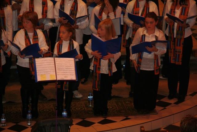 Concert de chant choral à Wangen le 6 décembre 2009 à 17h Concer19