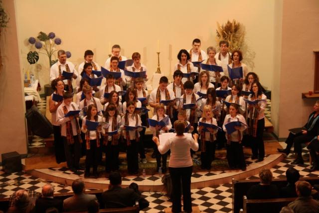 Concert de chant choral à Wangen le 6 décembre 2009 à 17h Concer21