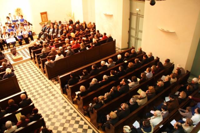 Concert de chant choral à Wangen le 6 décembre 2009 à 17h Concer23