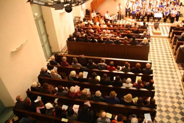 Concert de chant choral à Wangen le 6 décembre 2009 à 17h Concer24