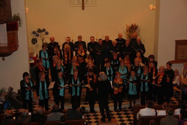 Concert de chant choral à Wangen le 6 décembre 2009 à 17h Concer29