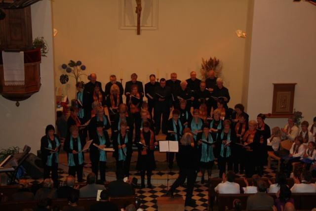 Concert de chant choral à Wangen le 6 décembre 2009 à 17h Concer30