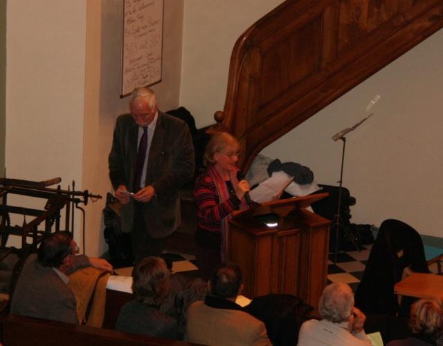 Concert de chant choral à Wangen le 6 décembre 2009 à 17h Concer31