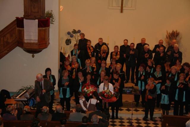 Concert de chant choral à Wangen le 6 décembre 2009 à 17h Concer34