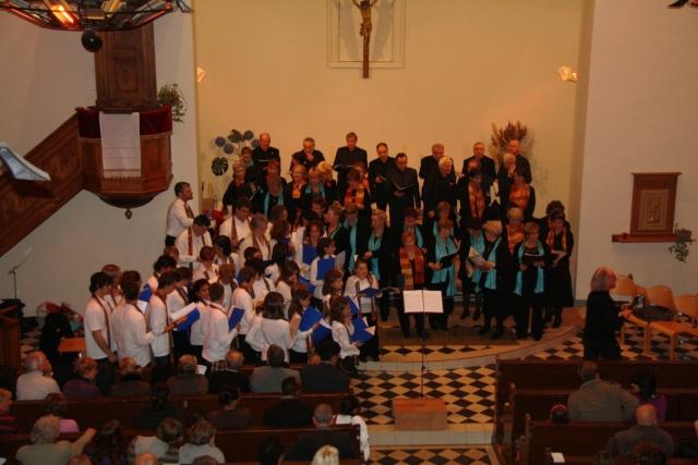 Concert de chant choral à Wangen le 6 décembre 2009 à 17h Concer35