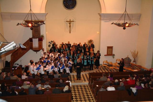 Concert de chant choral à Wangen le 6 décembre 2009 à 17h Concer36