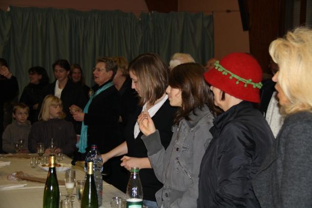 Concert de chant choral à Wangen le 6 décembre 2009 à 17h Concer43