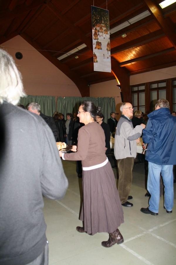 Concert de chant choral à Wangen le 6 décembre 2009 à 17h Concer48