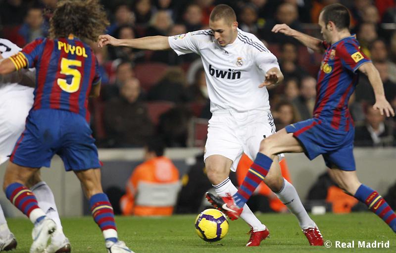 FC Barcelona : lnlesta dhe Benzema 23010