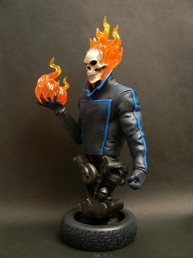 """MOTARD FANTÔME """"J.Blaze"""" (Ghost Rider) P1070413"""