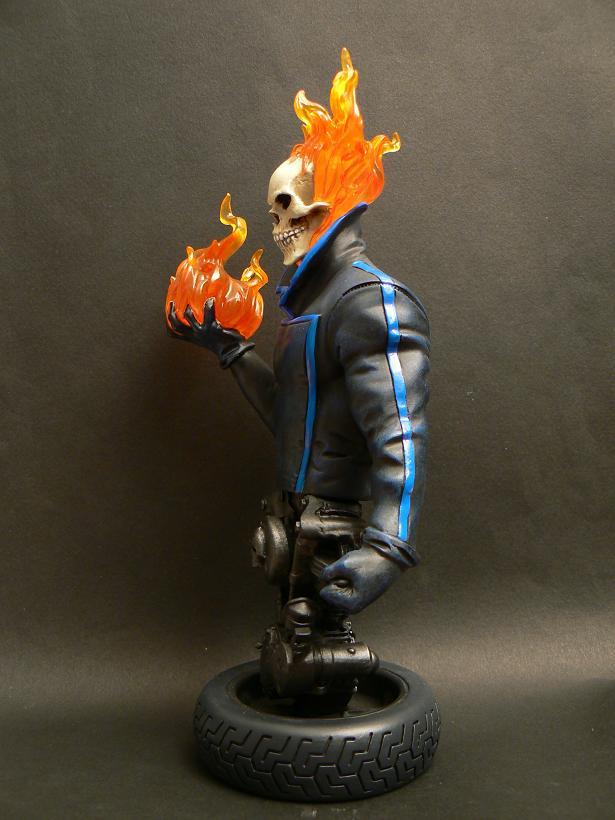 """MOTARD FANTÔME """"J.Blaze"""" (Ghost Rider) P1070414"""